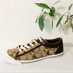 COACH Francesca Logo Sneakers